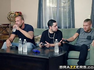 Brazzers - Mommy Got Boobs -  My Friends Fucked My Mom scene